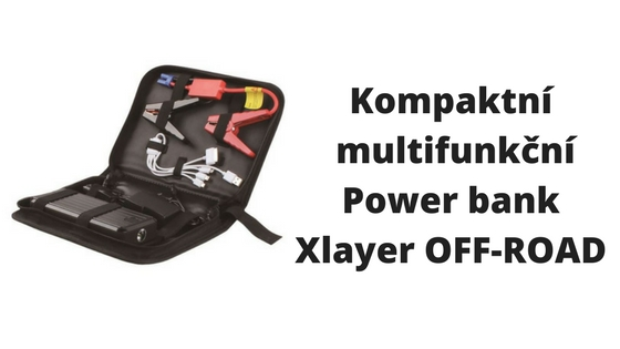 Kompaktní a multifunkční power bank OFF-ROAD